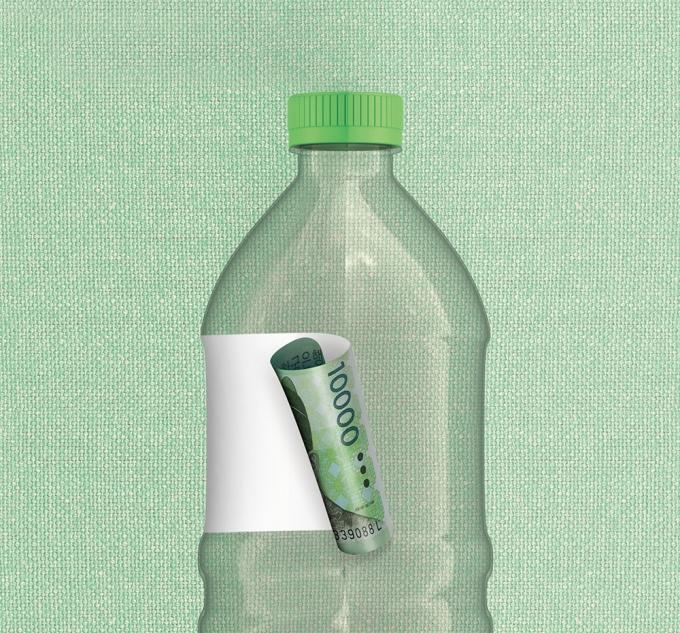 소비자들이 친환경 제품에 지갑을 열면서 기업들도 대응에 분주하다./그래픽=김은옥 기자