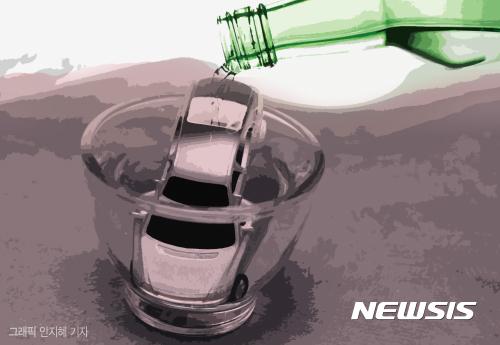 현역 프로농구 선수가 술을 마신 뒤 운전하다가 교통 사고를 낸 혐의로 형사 입건됐다./그래픽=뉴시스