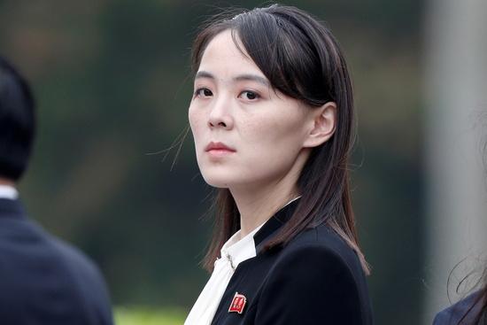 김여정 북한 노동당 부부장이 탈북민 단체들이 대북 전단 살포를 재개한 데 대해 정부에 책임의 화살을 돌렸다. /사진=로이터
