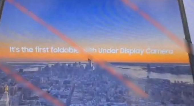 카메라가 빠졌다고?… 갤럭시Z폴드3 '여기'에 탑재한다