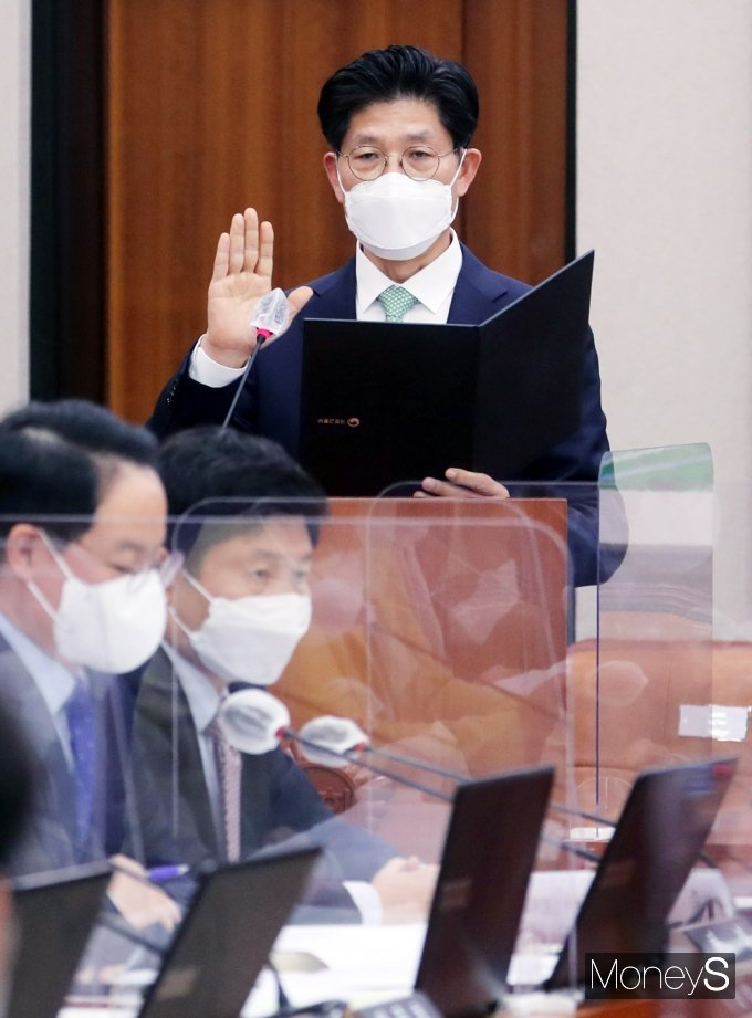 """[머니S포토] 노형욱 """"부동산 투기 근절 및 재발 방지 대책 강도 높게 추진할 것"""""""