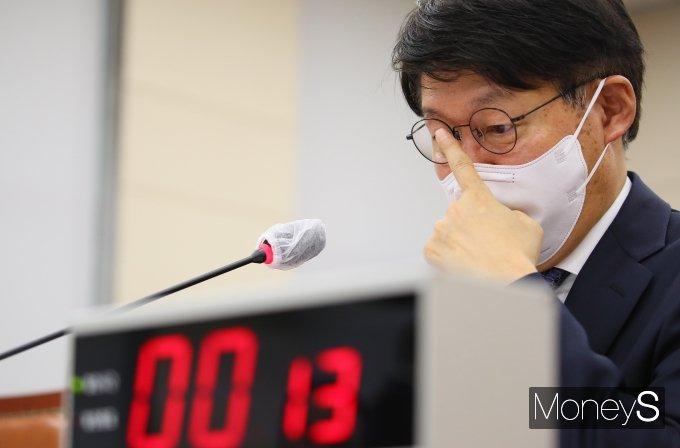 """[머니S포토] 안경덕 고용노동부 장관 후보자 """"청년일자리 확대 집중"""""""