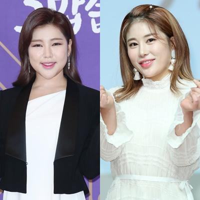 5일 방송 예정인 KBS 2TV '트롯 매직유랑단'에서 송가인(왼쪽)과 김소유(오른쪽)가 듀엣 무대를 펼친다. /사진=뉴스1