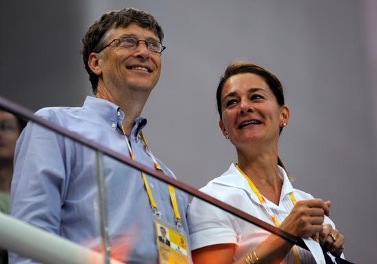 세계적으로 손꼽히는 부자인 빌 게이츠 MS 공동창업자(왼쪽)가 부인 멀린다(오른쪽)와 이혼한다고 밝혔다. /사진=로이터