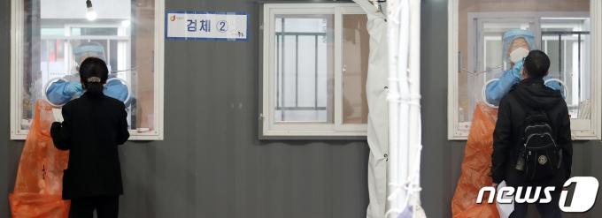 신종 코로나바이러스 감염증(코로나19) 임시선별진료소./뉴스1 © News1 김진환 기자