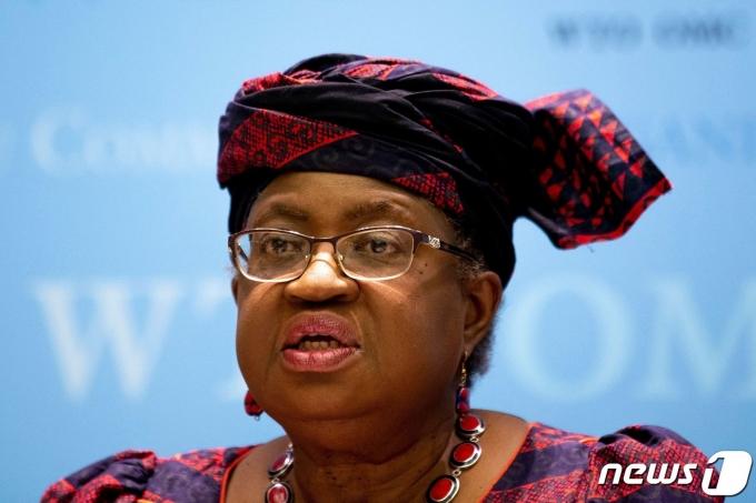 응고지 오콘조이웨알라 세계무역기구(WTO) 사무총장. © AFP=뉴스1