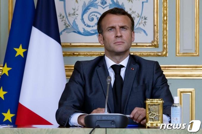 에마뉘엘 마크롱 프랑스 대통령. © AFP=뉴스1 © News1 우동명 기자