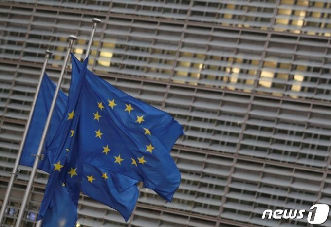 유럽연합 집행위원회 청사 전경. © 로이터=뉴스1