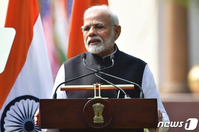 나렌드라 모디 인도 총리. © AFP=뉴스1 © News1 우동명 기자