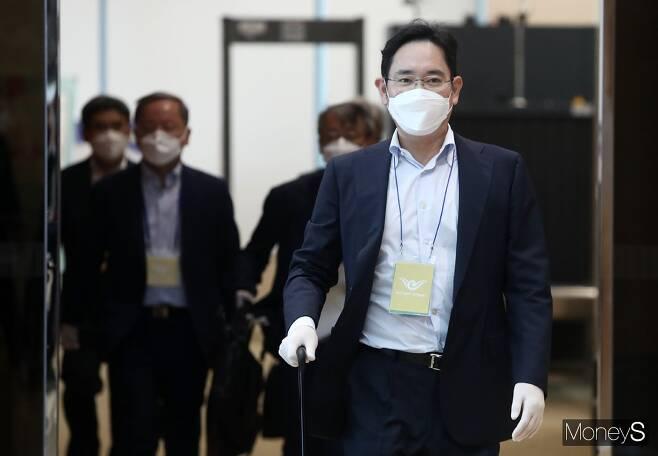 삼성 합병 의혹과 관련한 이재용 삼성전자 부회장의 두번째 공판이 6일 열렸다. / 사진=임한별 기자