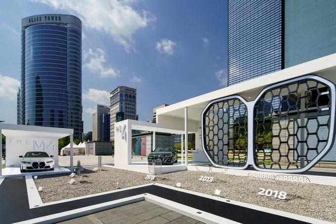 BMW코리아가 코엑스에서 브랜드 헤리티지 전시 공간 '키드니 로드' 운영한다./사진=BMW코리아
