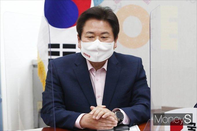 [머니S포토] 발언하는 정양석 전당대회 준비위원회 위원장