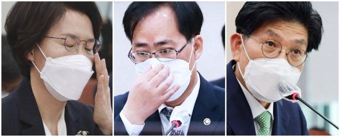 임혜숙·박준영·노형욱 청문보고서 불발… 與, 협의 시도