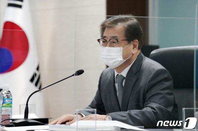 """靑NSC """"美 대북정책 검토 결과, 현실·실질적 방향으로 결정"""""""