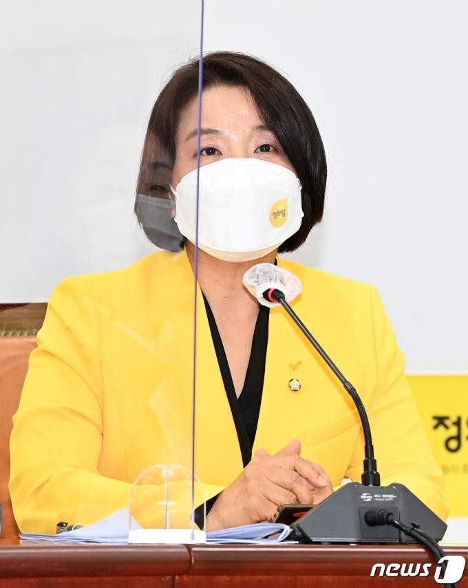 이은주 정의당 원내대변인. © News1 DB