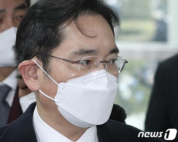 이재용 삼성전자 부회장. 2021.1.18/뉴스1 © News1 신웅수 기자