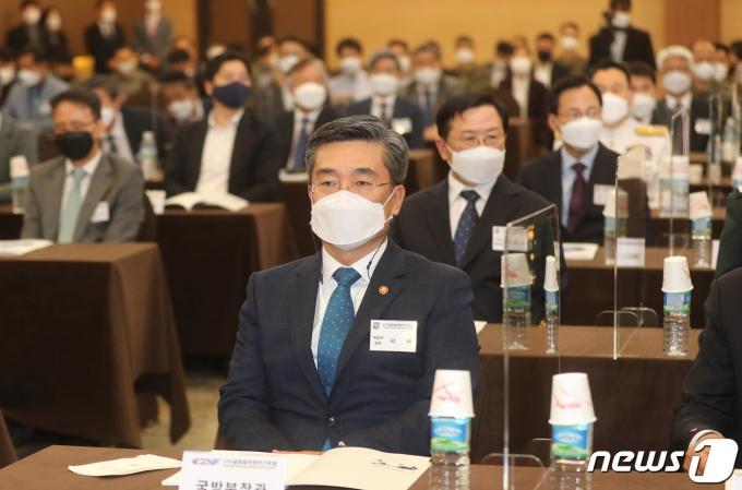 서욱 국방부장관. 2021.5.6/뉴스1 © News1 이성철 기자