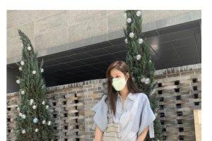 """이지아 근황, 청순美 뿜뿜… """"나애교는 어디에?"""""""