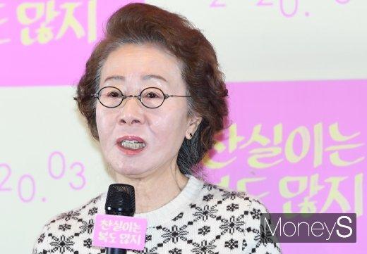 배우 윤여정이 비공개 입국한다는 소식이 전해졌다. /사진=장동규 기자