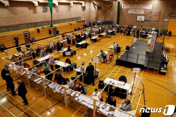 영국의 지방선거© 로이터=뉴스1
