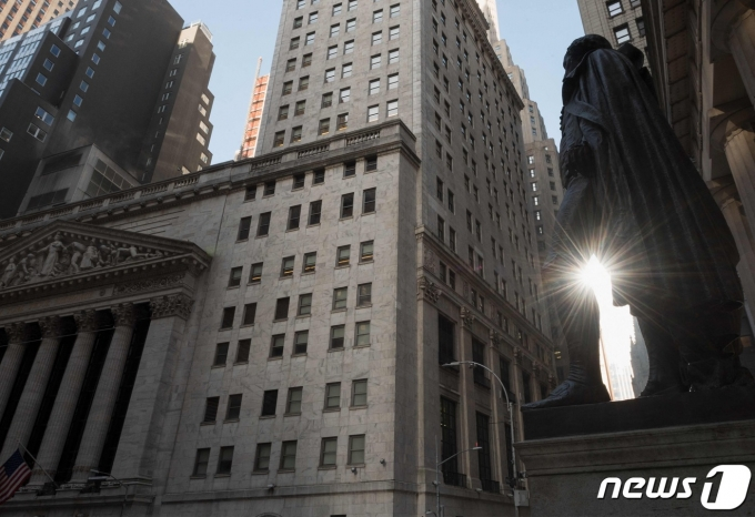 뉴욕증권거래소 © AFP=뉴스1