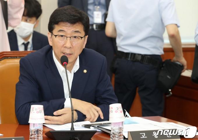고용진 더불어민주당 수석대변인. 2020.6.17/뉴스1 © News1 박세연 기자