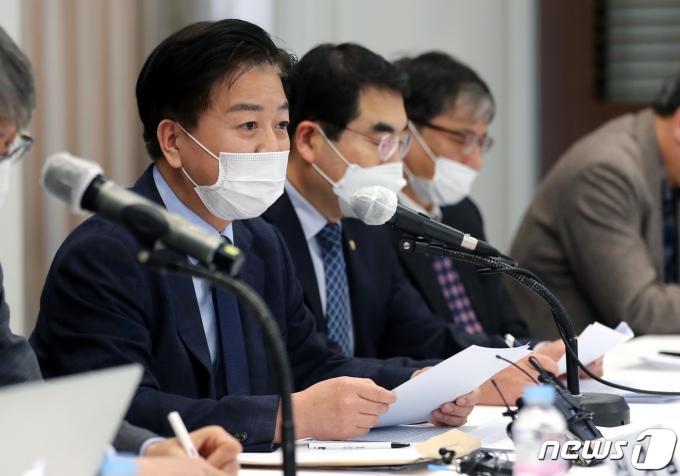 노웅래 더불어민주당 의원 2021.3.2/뉴스1 © News1 이동해 기자