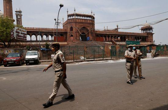 인도에서 코로나19로 인한 일일 사망자가 사상 최다 기록을 경신했다. /사진=로이터