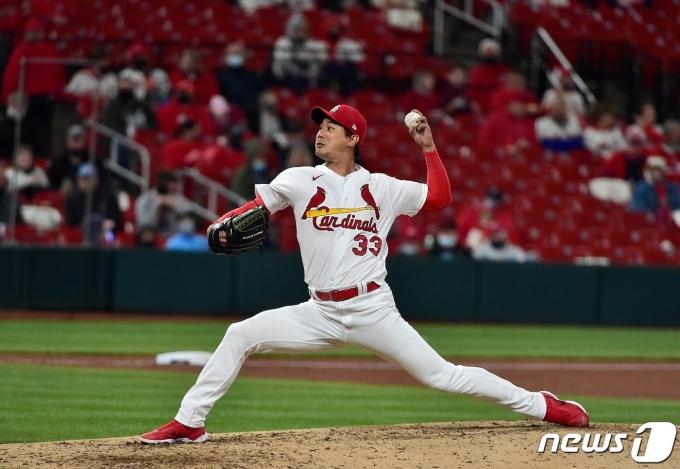 김광현이 밀워키 브루어스를 상대로 시즌 2승에 재도전한다. © AFP=뉴스1