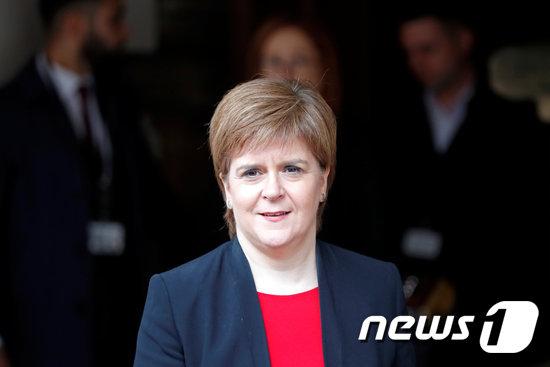 니콜라 스터전 스코틀랜드의 자치정부 수반. © 로이터=뉴스1