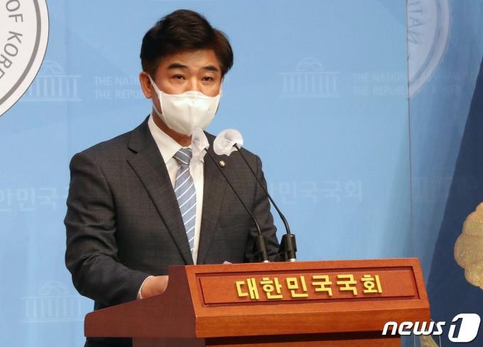 김병욱 더불어민주당 의원. 2021.4.20/뉴스1 © News1 오대일 기자