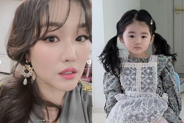 정미애 딸이 송혜교 닮은 미모로 눈길을 사로잡았다. /사진=정미애 인스타그램