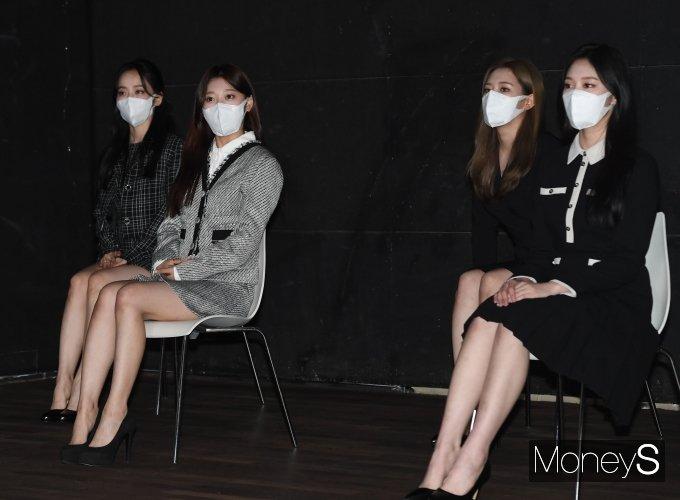 [머니S포토] 2021 해외문화 홍보대사 위촉식 참석한 이달의 소녀