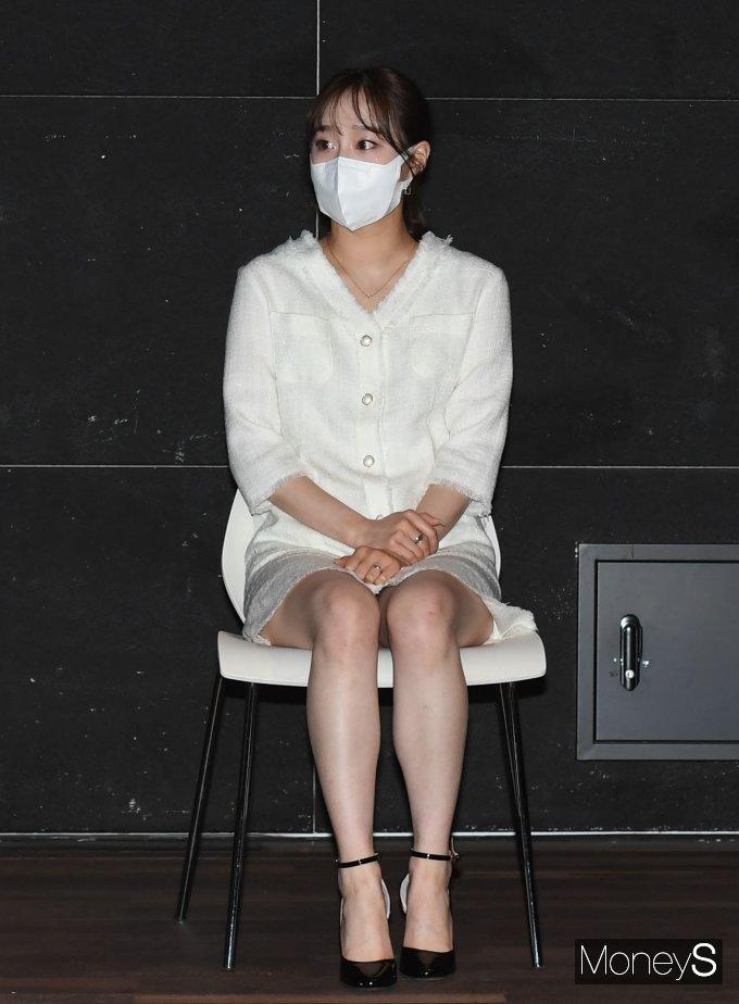 [머니S포토] 이달의 소녀 츄 '눈에 띄는 귀여움'