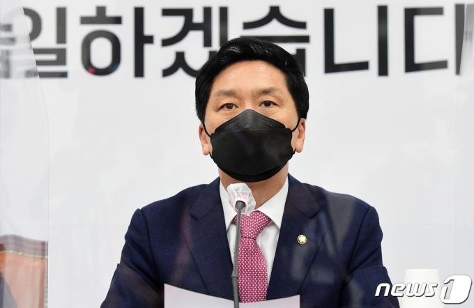 김기현 국민의힘 대표 권한대행 겸 원내대표 2021.5.10/뉴스1 © News1 오대일 기자