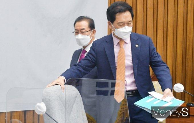 """[머니S포토] 김기현 """"국민 생명과 안전 위협, 野 방치하거나 묵과할 수 없어"""""""