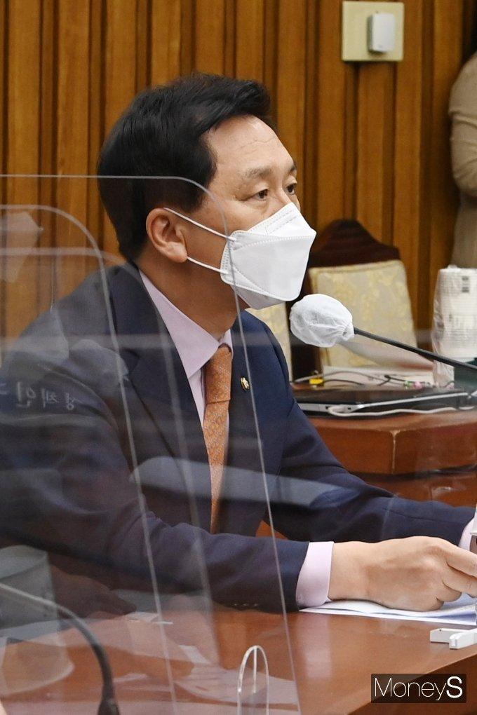 [머니S포토] 발언하는 김기현 원내대표