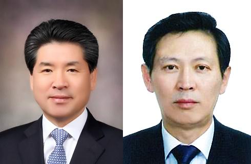 윤현우 신임 운영위원장(왼쪽), 김경식 신임 부위원장