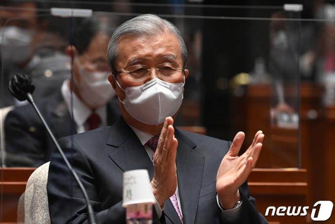 김종인 전 국민의힘 비상대책위원장 © News1 성동훈 기자