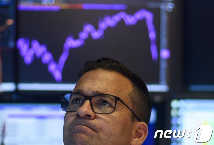 뉴욕 증권 거래소 © AFP=뉴스1 © News1 우동명 기자