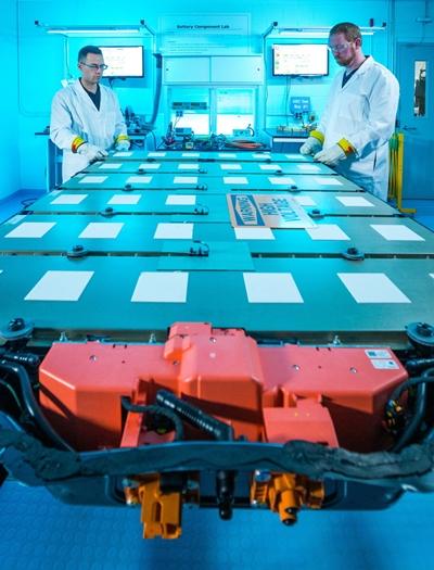 얼티엄셀즈 전기차 배터리 팩. /사진=LG에너지솔루션