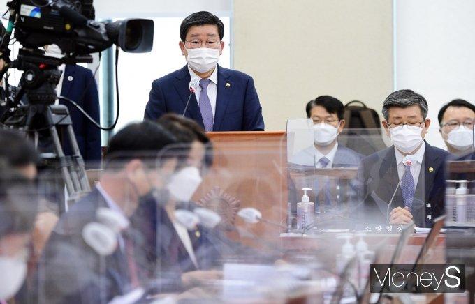 [머니S포토] 전해철 행안부 장관, 법률안 제안설명
