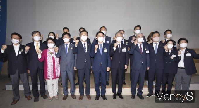 [머니S포토] 이재명 지지모임 '민주평화광장 출범식'