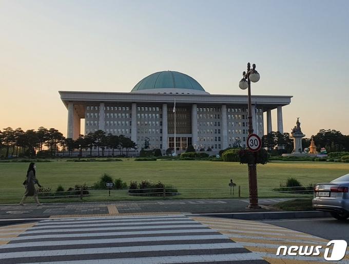 국회의사당 전경 2021.05.12/뉴스1 © News1 정윤미 기자