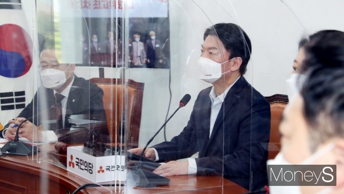 """[머니S포토] 국민의당 안철수 """"내년, 암호화폐 양도세 부과 반대한다"""""""