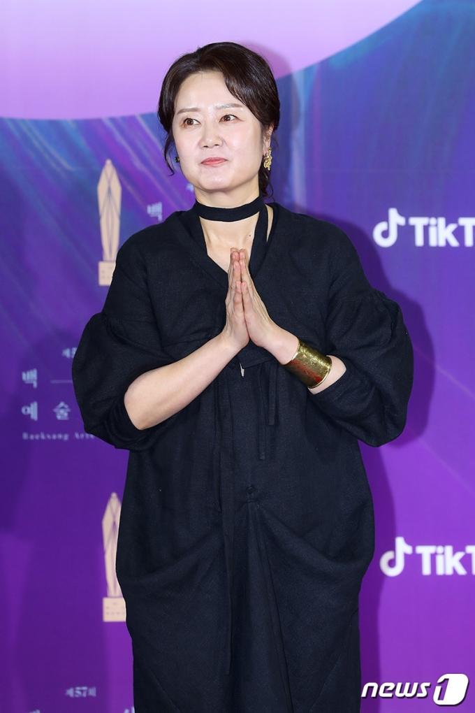 [사진] 김정은, 제57회 백상예술대상 참석