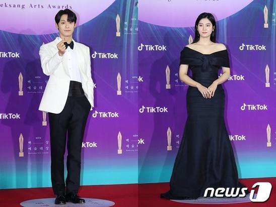 이도현(왼쪽)과 박주현 / 사진제공=백상예술대상 사무국 © 뉴스1