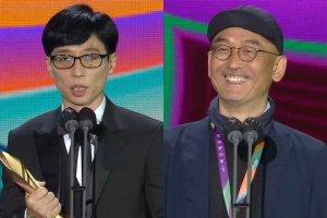 유재석·이준익감독 '2021 백상예술대상'… '괴물' 3관왕(종합)
