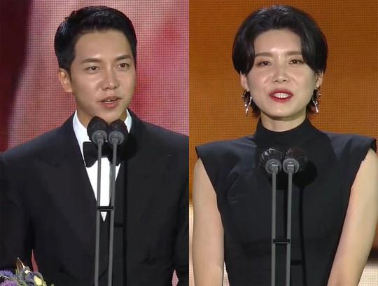 이승기와 장도연이 예능상을 수상했다. /사진=틱톡캡처