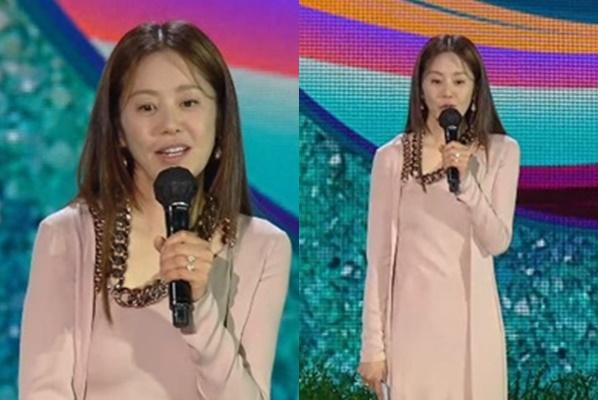 배우 고현정의 미모에 시선이 집중됐다. /사진=틱톡 캡처